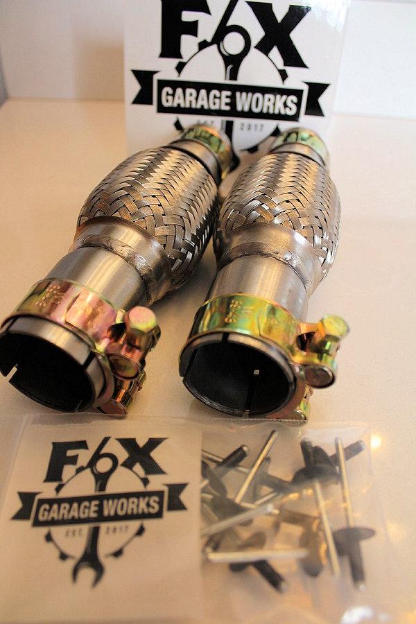 Braided Exhaust Flex Pipe