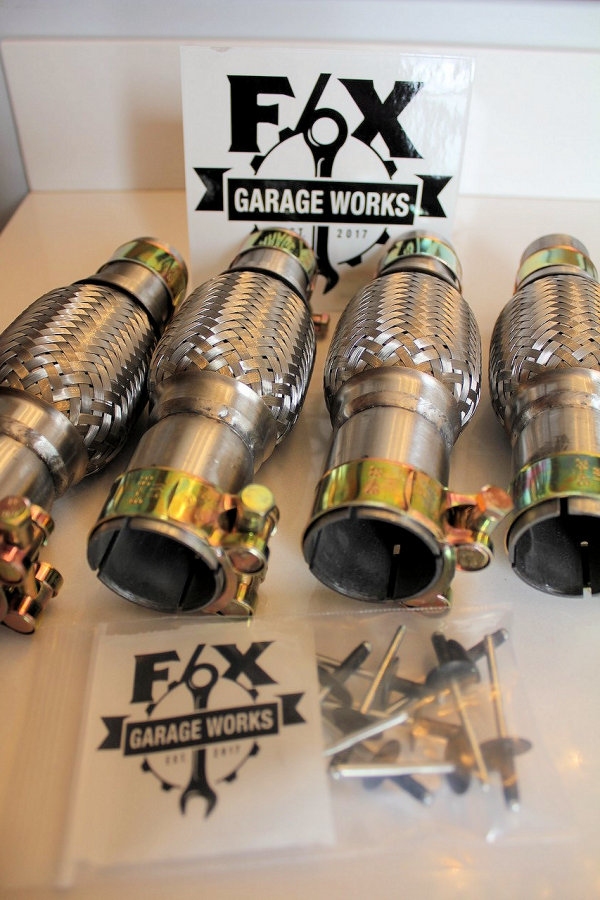 Flex Pipe Products F X Garage Works